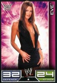 Eve Divas Card Official WWE Slam Attax