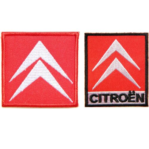 Patch Iron on Transfer Embroidered for CITROEN Car Racing Logo Badge Emblem Sign