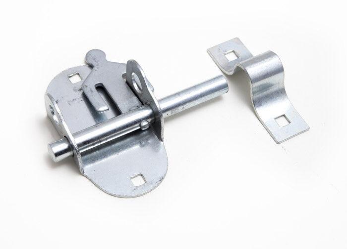Bullone Ovale Pad Porta Porta Blocco Serratura Bzp Acciaio Zincato Confezione Da 25