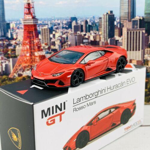 MINI GT 1//64 Lamborghini Huracan EVO Rosso Mars LHD MGT00115-L