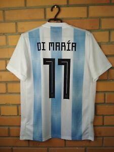 05af4fcb2 Di Maria Argentina jersey medium 2018 home shirt BQ9324 soccer ...
