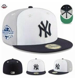 New-York-Yankees-New-Era-39THIRTY-2018-MLB-All-Star-Game-On-Field-Hat-Cap-S-M