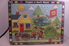 "Shapes in God's World 25 piece Puzzle 13"" x 10"" 1998 New Standard Publishing Co"