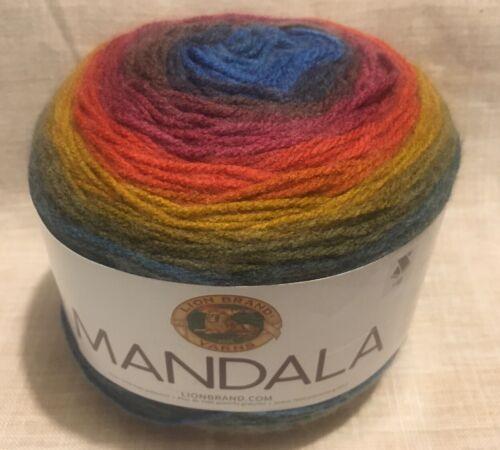 SKEIN//BALL OF LION BRAND MANDALA YARN ~ COLOR #204 CHIMERA