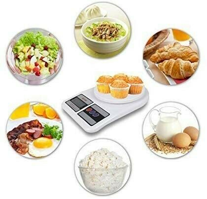 Electronic Kitchen Scale 10kg/1g INCREMENTS
