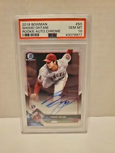 2018-Bowman-Chrome-Shohei-Ohtani-ROOKIE-RC-AUTO-SO-PSA-10-GEM-MINT