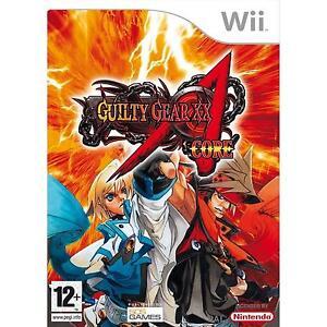 Wii-Guilty-Gear-Core-USATO-Buone-Condizioni