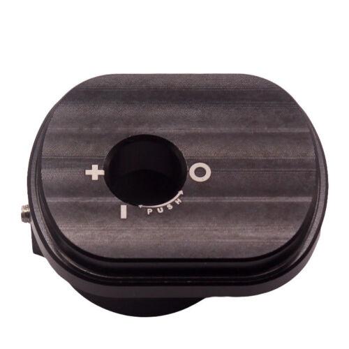 Aluminum Alloy Motorcycle Ignition Cylinder Cover For Honda Ruckus Zoomer Black