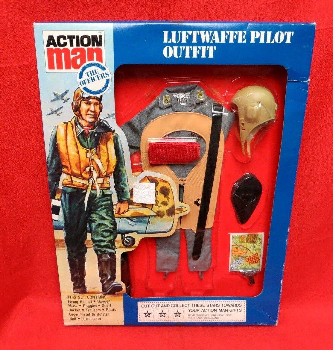 1964 VINTAGE GI JOE JOEZETA    PALITOY ACTION MAN   GERMAN LUFTWAFFE PILOT MIB