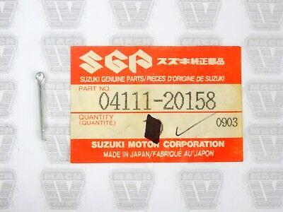 Suzuki NOS NEW 04111-20158 Cotter Pin 20x15 ALT DL DR GSF GSX GZ JR LT 1983-2012