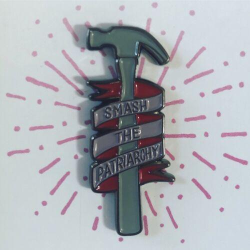 ✨Smash The Patriarchy Enamel Pin ~ Feminist Pin✨