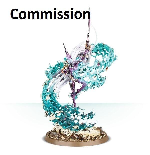 El ynCochene, Avatar de Ynnead Comisión magníficamente pintado warhammer 40K