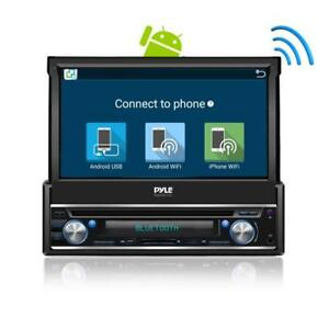 Pyle-In-Dash-Single-Din-7-inch-Motorized-Android-Wireless-Bluetooth-Player