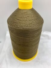 Sewing Thread Cocoa Brown #69 Bonded Nylon T70 16 oz Spool Made In USA N324