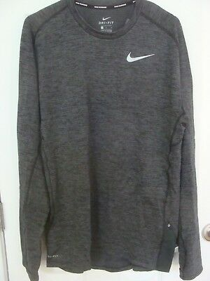 857827 010 Nike Therma Sphere Element Men/'s Long Sleeve Running Top