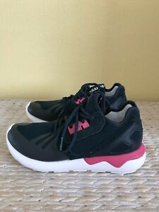 Adidas Weave Black eu37 Running 5 Sneakers us6 Tubular Uk4 White Pink Trainers 5 ZwFxqaZ