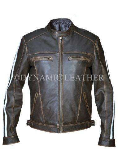 Leon Kennedy Resident Evil Vendetta Black Leather Jacket-BNWT