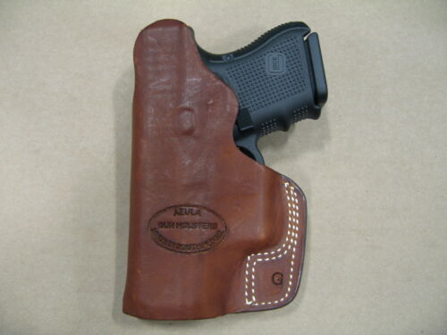 S/&W M/&P Compact 9mm//.40 IWB Leather In The Waistband Concealed Carry Holster TAN