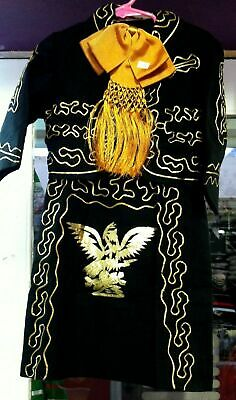 Girls /& Toddlers Mariachi Charro Outfit Mexico Folklorico 5 De Mayo Fiesta New