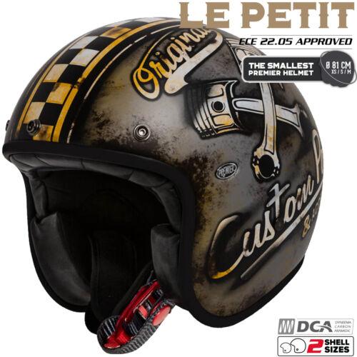 PREMIER Jethelm LE PETIT OP 9 BM extra kleine Schale Classic mit ECE Gr L 59//60