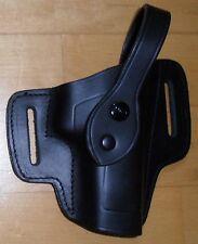 Akah policía holster quicksure nuevo p6/p-226 cinturon cuero negro