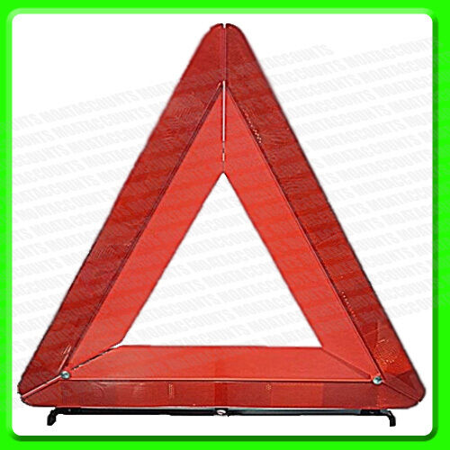 E approved in Plastic Case MP120 Large Folding Warning Triangle