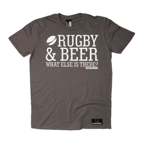Rugby /& beer What Else Is There T-SHIRT tee rugga team funny birthday gift 123t