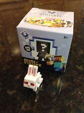 "Minecraft Ice Series 5 Killer Rabbit 1"" mini Figure Loose w/ Original Box"