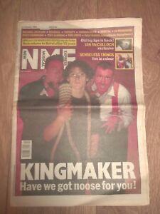 NME MAGAZINE / NEWSPAPER JANUARY 11 1992 KINGMAKER MICHAEL JACKSON THERAPY