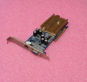 SCHEDA-GRAFICA-AGP-NVIDIA-GeFORCE-64-MB-GF4-MX-4000-VGA-AGP