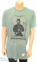 Xl - Juicy Couture Mens 'troubadour' All England Modal Green Graphic Tee T-shirt
