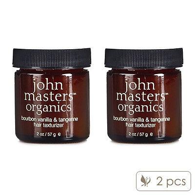 2X John Masters Organics Bourbon Vanilla & Tangerine Hair Texturizer 57g #8073_2