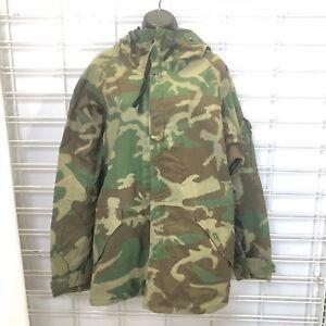 Camo Military Parka Jacket
