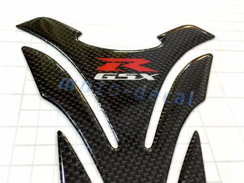 Real Carbon Fiber For Suzuki GSXR1000 750 600 Tank Pad 3D Decal Fairing Sticker