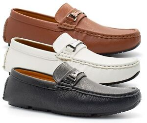bf02679349 Image is loading NEW-MENS-MOCCASIN-DESIGNER-TASSEL-ITALIAN-LOAFERS-CASUAL-
