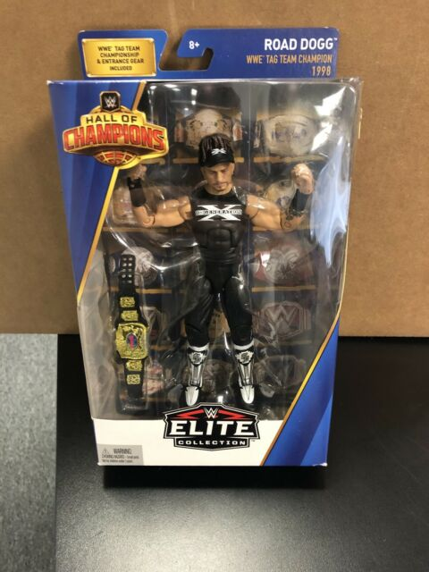 WWE Mattel Elite Hall of Champions Exclusive Road Dogg Figure Flashback