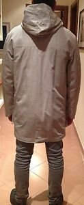 Parka Con Medium Winterjacket Taglia Giaccone Red Levi's Cappuccio Tab Beige qpdnHS6E