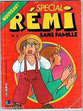 SPECIAL REMI SANS FAMILLE n°5 ¤ 1977 EDIT BOYS TF1