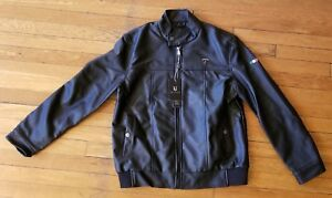 bd070ae9b Details about VG World Collection Leather Jacket Men's (US Medium) Made In  Italy, Black, NWT