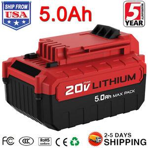 5000mAh-For-Porter-Cable-PCC685L-20V-Lithium-ion-Battery-PCC680L-PCC682L-PCC681L