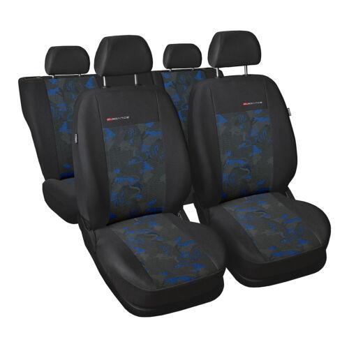 Universal auto referencias sede para Volkswagen Lupo azul funda del asiento asiento del coche ya referencias