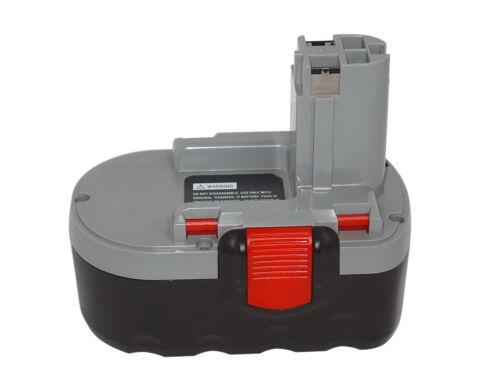 AEC 18 ve2 Batterie pour Bosch AEC 18ve-2 NiMH//3000mah//18v GSR 18ve-2