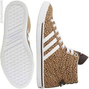 Adidas NEO Bbpark Mid W Women's Leopard Cheetah Casual Sneakers Shoes F38693 USA