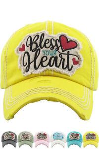 d6a0732ce71 Image is loading ScarvesMe-KBETHOS-Embroidered-Bless-Your-Heart-Ladies- Vintage-