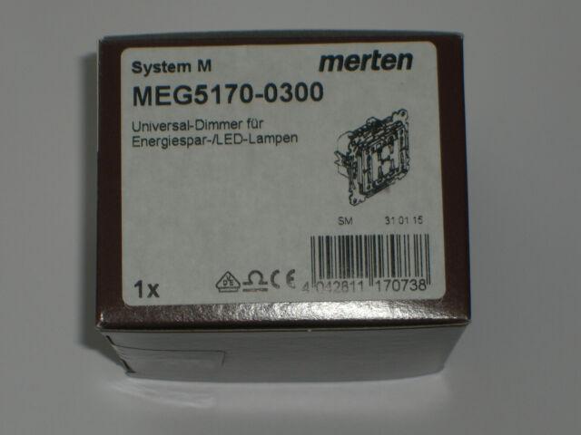 Merten MEG5170 0300 Universal Dimmer für Energiespar LED