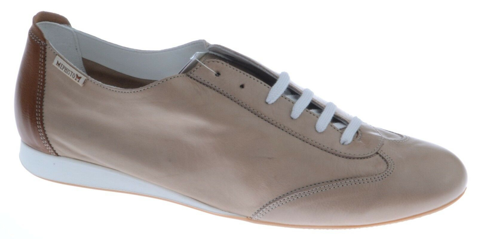 Femmes Lacets Casual Sportif Sportif Sportif Chaussures MEPHISTO Becky Taupe Clair Taille UK 8 635a2d