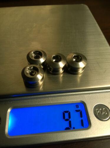 J/&L Titanium MTB Single ChainRing Bolts for Sram,Shimano,Truvativ,FSA-2*10