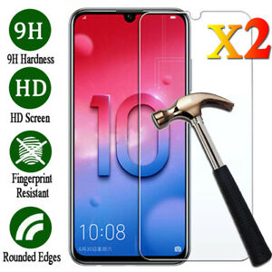 2Pcs-Tempered-Glass-Screen-Protector-For-Huawei-Honor-8X-8-9-10-Lite-20-Pro-20i