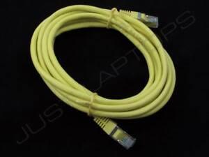Neuf 3M Mètre Jaune CAT5 Blindé Réseau Ethernet Lan RJ45 Câble