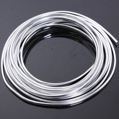7mm Chrome Moulding Trim Strip Car Door Edge Scratch Guard Protector Strip Roll